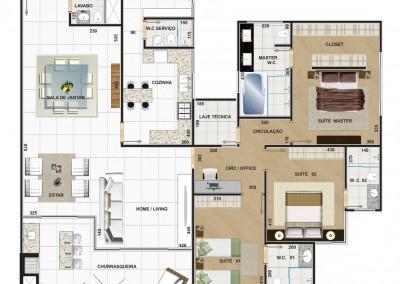 Planta-Apartamento