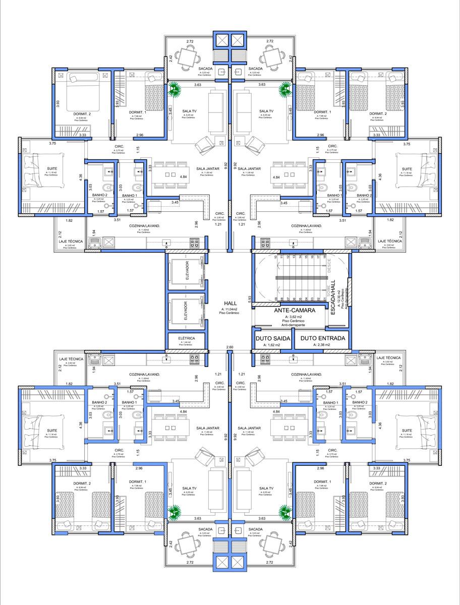 Top Edifício Residencial Madrid | Dr Engenharia QN51